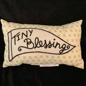 Tiny Blessings Pillow